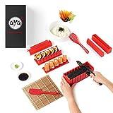 AYA Kit para Hacer Sushi - Equipo para Hacer Sushi Edición Cuchillo de Sushi y Tutoriales en Video Online - Set de Sushi de...