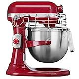 KitchenAid 5KSM7990XEER - Robot de cocina (Rojo, Metal)