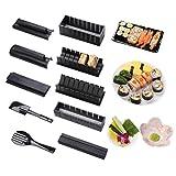 Sushi Maker kit 10pcs 5 Formas únicas de Kit para Hacer Sushi Molde Inicio Hacer Sushi Kit Sushi kit del fabricante Fácil y...