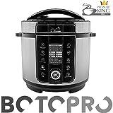 BOTOPRO - Pressure King Pro 6L, el Robot de Cocina 20 en 1. Incluye Gratis Cucharon y Recetario - Anunciado en TV