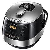 Aigostar Happy Chef 30IWY – Robot de cocina multifunción, cocina a presión: 7 aparatos en uno, 15 funciones, panel led,...