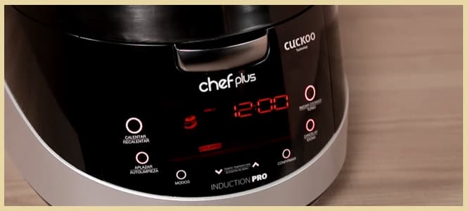 robot chef plus induction precio