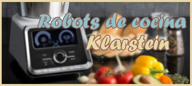 Los mejores robots de cocina Klarstein