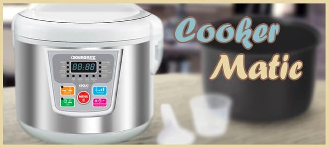 cooker matic como funciona