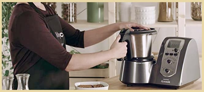 robot de cocina taurus mycook legend