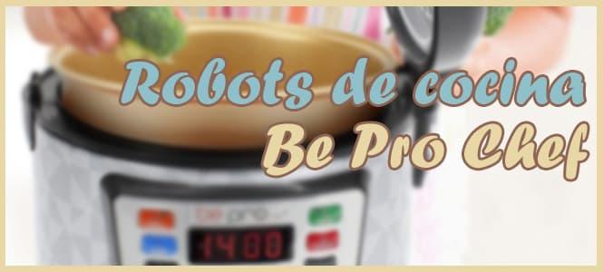 robot de cocina programable bepro