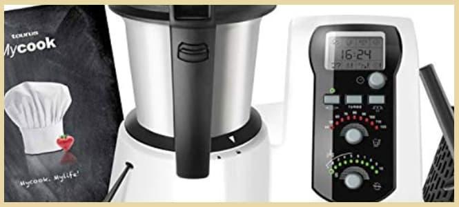 Opiniones y precio del robot de cocina multifunción Taurus Mycook easy