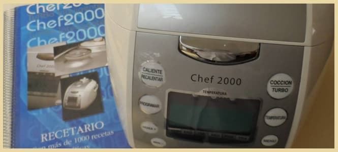 chef 2000 turbo inteligente precio