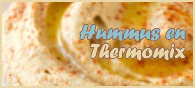 Hummus de Garbanzos con Thermomix