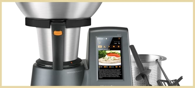 robots de cocina programable