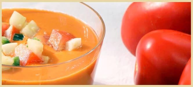 gazpacho con monsieur cuisine