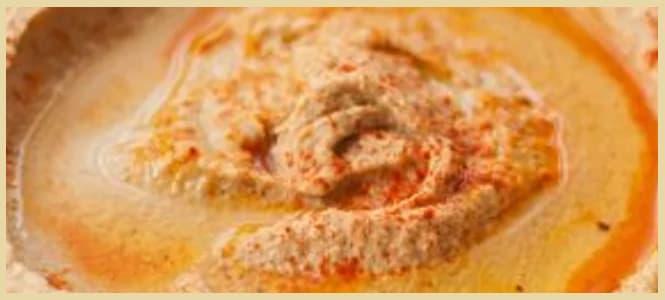 Hummus de garbanzos en solo 2 minutos