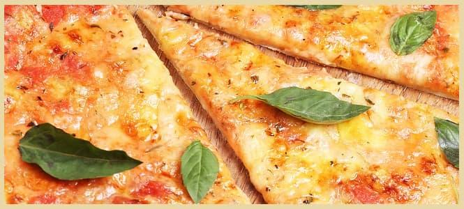 pizza margarita con mambo