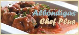 Receta para Cocinar Albóndigas a la boloñesa