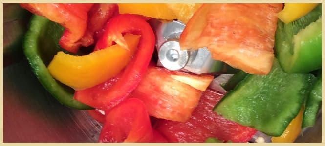Sofrito de tomate y cebolla saludable