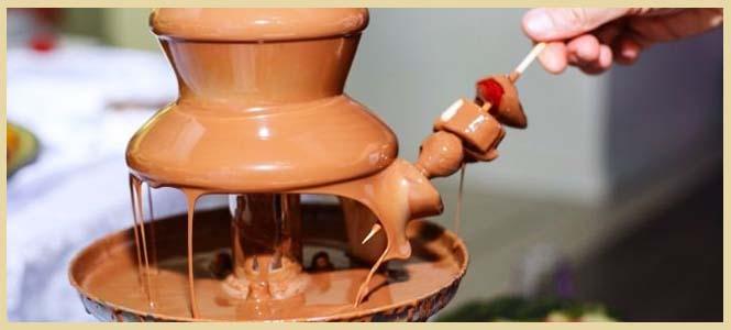 comprar fuente de chocolate